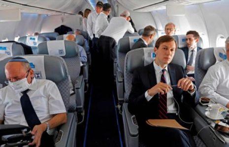 Argelia. Túnez.  Impiden paso de avión israelí con Kushner a bordo