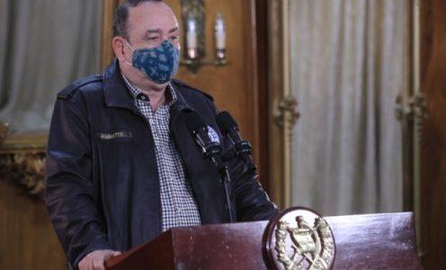 Guatemala. Giammattei vuelve a dejar en manos de la población la responsabilidad sobre la pandemia