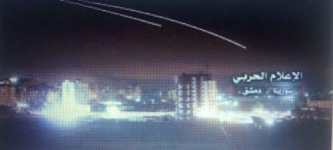 Siria. Repele ataque con misiles de Israel contra Hama