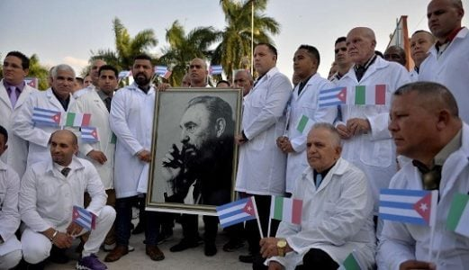 Cuba. Palabras para cuando va a abrir el año 62 de Humanidad