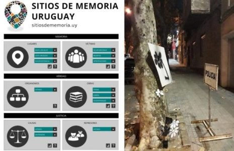 Uruguay. El terror de la dictadura plasmada en un mapa interactivo