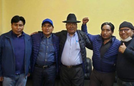 Bolivia. El MAS anuncia a Zacarías Maquera como candidato a alcalde de El Alto