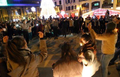 Euskal Herria. Desde Basauri hasta Maule, miles de voces y un grito contra la dispersión