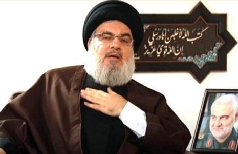 Líbano. Nasralá alerta de plan de Israel, EEUU y Arabia Saudí para asesinarlo