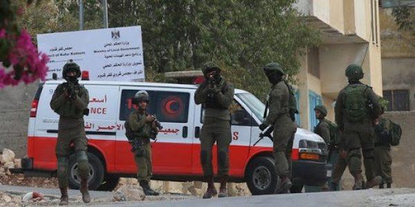 Palestina. Las fuerzas israelíes asaltan el hospital de Ramallah y hieren a una mujer embarazada