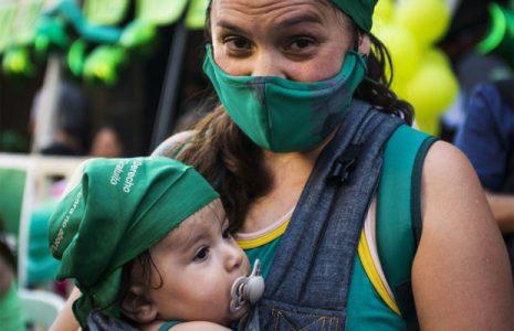 Argentina. Postales de una jornada histórica: la marea verde por aborto legal