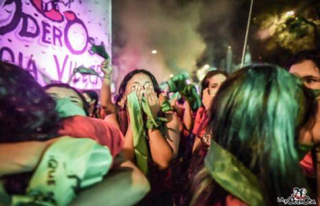 Argentina: «Ya tenemos ley»: Verde estallido verde, para que se esuche en el mundo