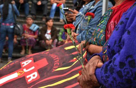 Guatemala. Lxs testigxs  apagaron sus voces, pero sus testimonios quedaran en la memoria y la historia