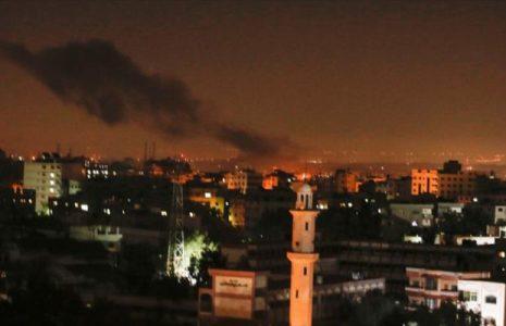 Palestina. Israel atacó 300 blancos en Gaza y otros 50 en Siria en 2020