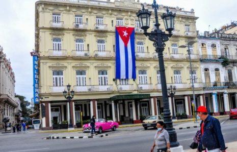 Cuba. Recibió el 2021 con orgullosas banderas en sus balcones