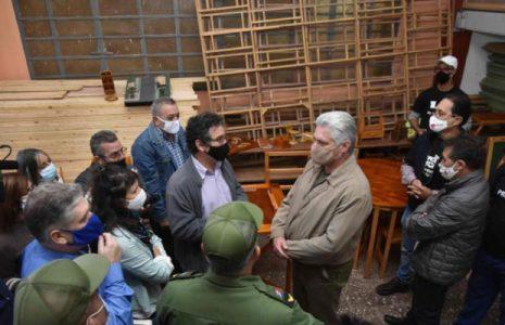 Cuba. Afirma Díaz-Canel que se fortaleció unidad en 2020