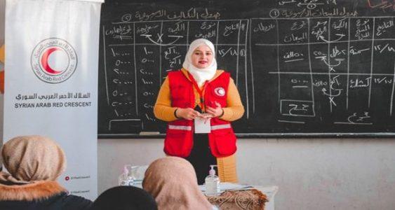 Siria. 100 mujeres en Deraa se benefician del proyecto de industrias caseras