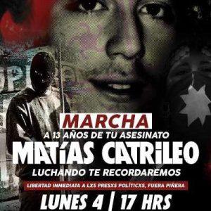 Nación Mapuche. Matias Catrileo, tu muerte no fue en vano