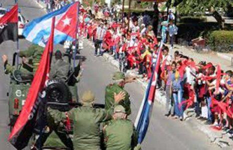 Cuba. Avanza caravana en respaldo a la Revolución