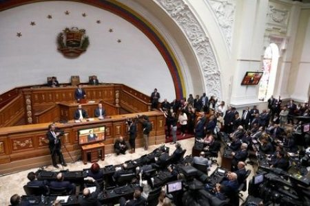 Venezuela.  Instalada nueva Asamblea Nacional