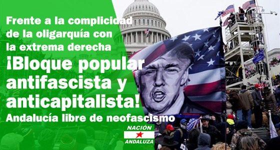 Nación Andaluza ante el asalto al Capitolio estadounidense