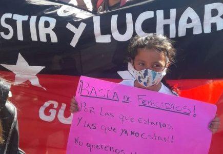Argentina. Ezeiza: Cientos de mujeres ganaron la calle para gritar: ¡basta de femicidios!