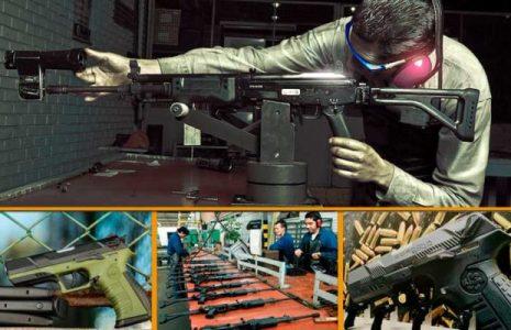 Colombia. Armas de exportación hechas en casa