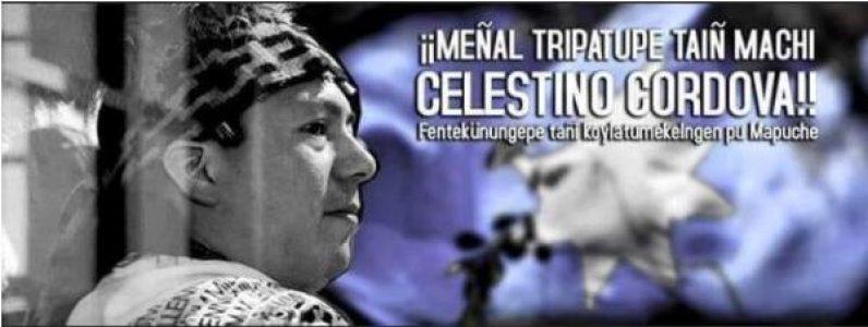 Nación Mapuche. Denuncian inminente traslado del Machi Celestino Cordova