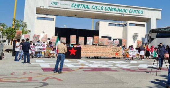México. Apoyan otomís a defensores contra la termoeléctrica en Huexca