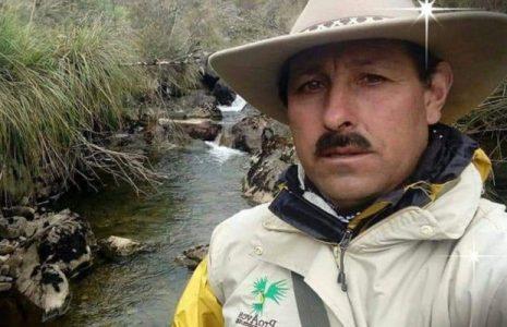 Colombia. Dolor por el asesinato del ambientalista Gonzalo Cardona Molina en Roncesvalles, Tolima