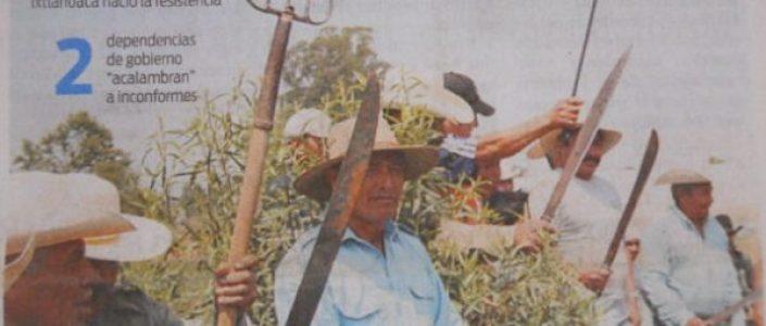 México. La ruta del despojo en los valles centrales de Oaxaca