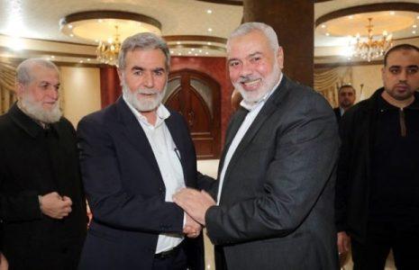 Palestina. Dirigentes de Hamas y la Jihad Islámica abordan el tema de la unidad