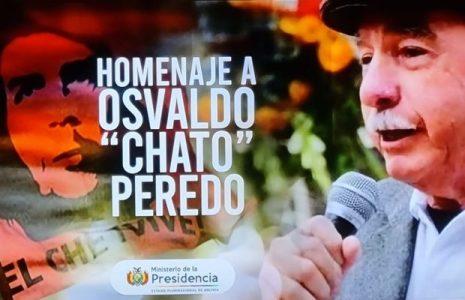 Bolivia. El gobierno rindió emotivo homenaje al Comandante Chato Peredo