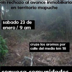 Nación Mapuche. Encuentro para decir «no a proyectos inmobiliarios en nuestro territorio»