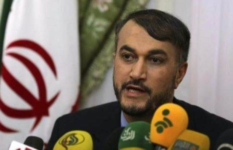 Iran. Alto funcionario iraní critica sanciones europeas contra canciller sirio