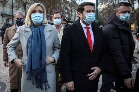 Portugal: Le Pen apoya al candidato de la ultraderecha portuguesa en las presidenciales