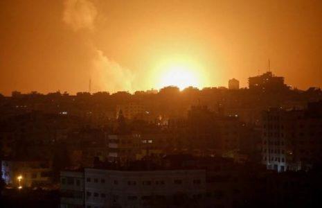 Palestina. Cazas israelíes atacan el sur de la Franja de Gaza