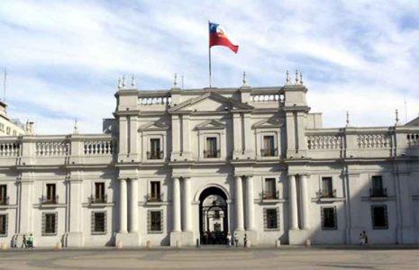 Chile . Partidos en carrera hacia La Moneda
