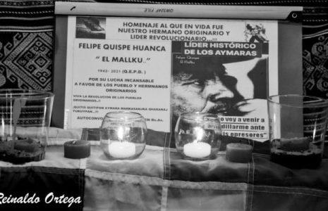 Argentina. Emotivo homenaje a el Mallku en Buenos Aires (fotos y video)