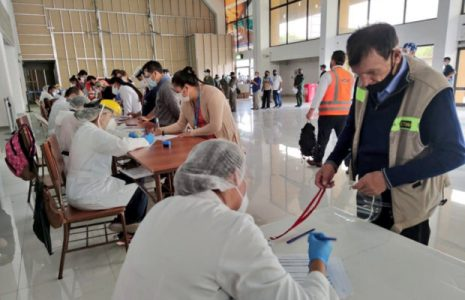 Bolivia. Impulsa campaña de detección de Covid-19 en aeropuertos