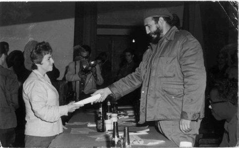 Cuba. Fidel hace 60 años: La Revolución resolvió, para siempre, el dilema del maestro