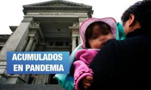 Perú. Hay más de millón y medio de demandas por alimentos pendientes