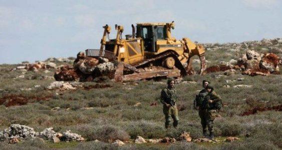Palestina. Arrasan tierras en Nablus para expandir asentamiento israelí