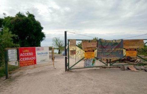 Argentina. La bonaerense reprimió y detuvo a manifestantes ambientalistas en San Nicolas