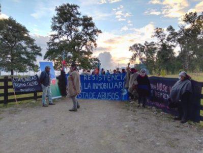 Nación Mapuche. Comunidades  de Panguipulli inician recuperación territorial para frenar avance inmobiliario