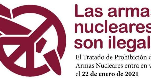 Ecología Social. Entra en vigor el Tratado de Prohibición de Armas Nucleares