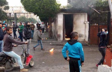 Líbano. Choques entre las fuerzas de seguridad libanesas y manifestantes en Trípoli