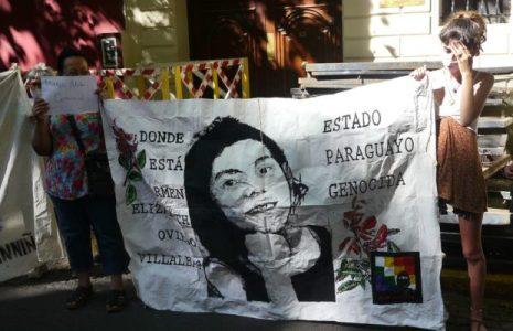 Argentina. Este martes movilización a la embajada de Paraguay para condenar el terrorismo de Estado y aparicion con vida de Lichita