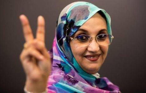 Sáhara Occidental.  Haidar nominada al Premio Nobel de La Paz en reconocimiento a su larga trayectoria en defensa a los DD.HH de los saharauis