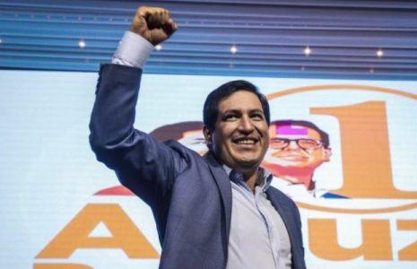 Ecuador. Según el conteo rápido del CNE, gana Arauz pero en segundo lugar se ubica Yaku Pérez/ Guillermo Lasso quedaría tercero
