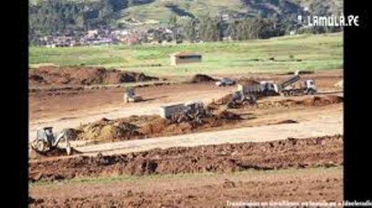 Perú. Piden al presidente Sagasti postergar inicio de obras del aeropuerto de Chinchero