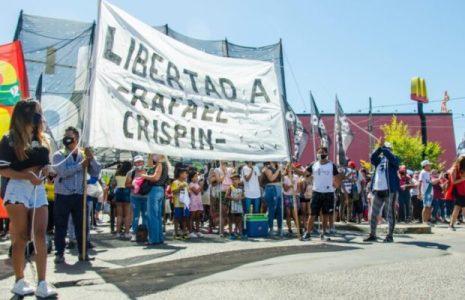 Argentina. Cortes de ruta para exigir la libertad del militante popular Rafael Crispín