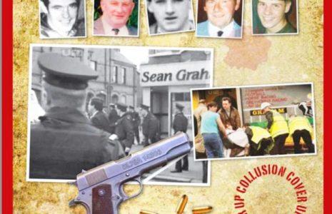 Irlanda. Republicanos irlandeses denuncian ataque policial a familiares asesinados en la masacre de Sean Graham