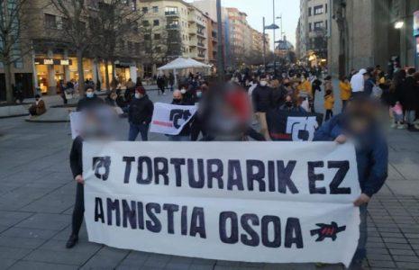 Euskal Herria. Con concentraciones recordaron al militante de ETA, Joseba Arregi /Actos por el «día contra la tortura»