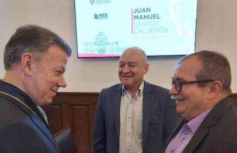 Colombia. Carta de Juan Manuel Santos a Rodrigo Londoño